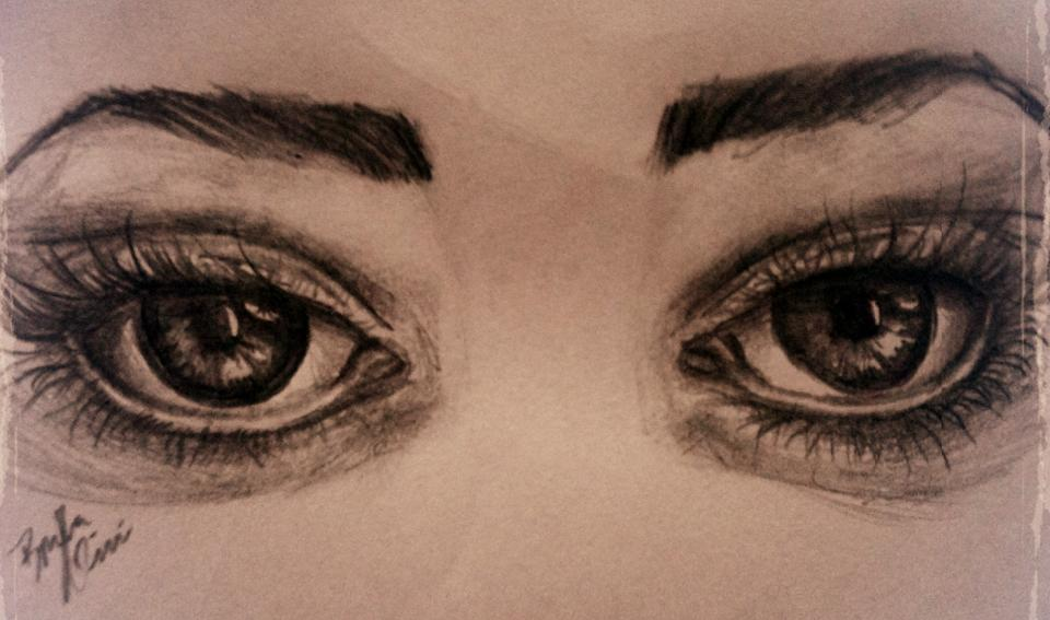 Sad Eyes by bruhirai on DeviantArt