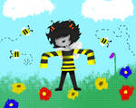 1M 4 833 N0W WH47!! (IM A BEE NOW WHAT!!)