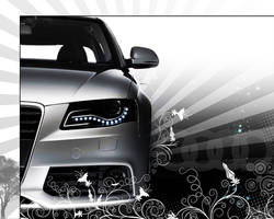 Audi Wallpaper by malte720