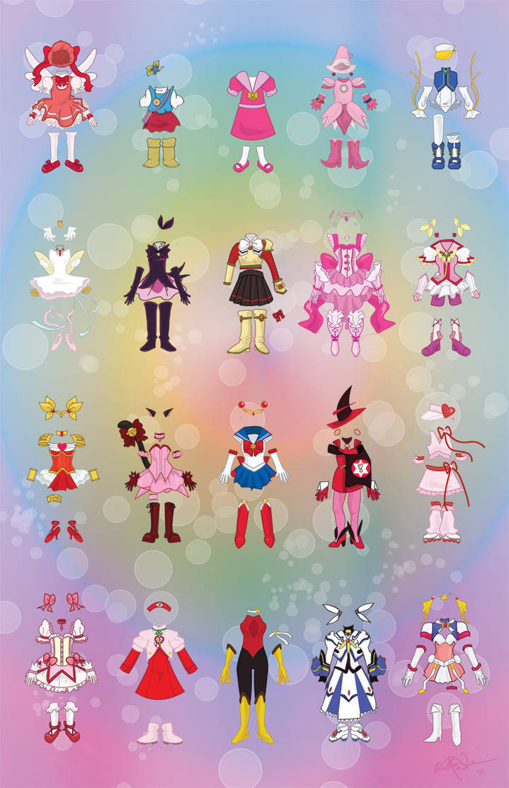 Magical Girl Garments