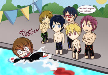 Swimming Anime Lessons