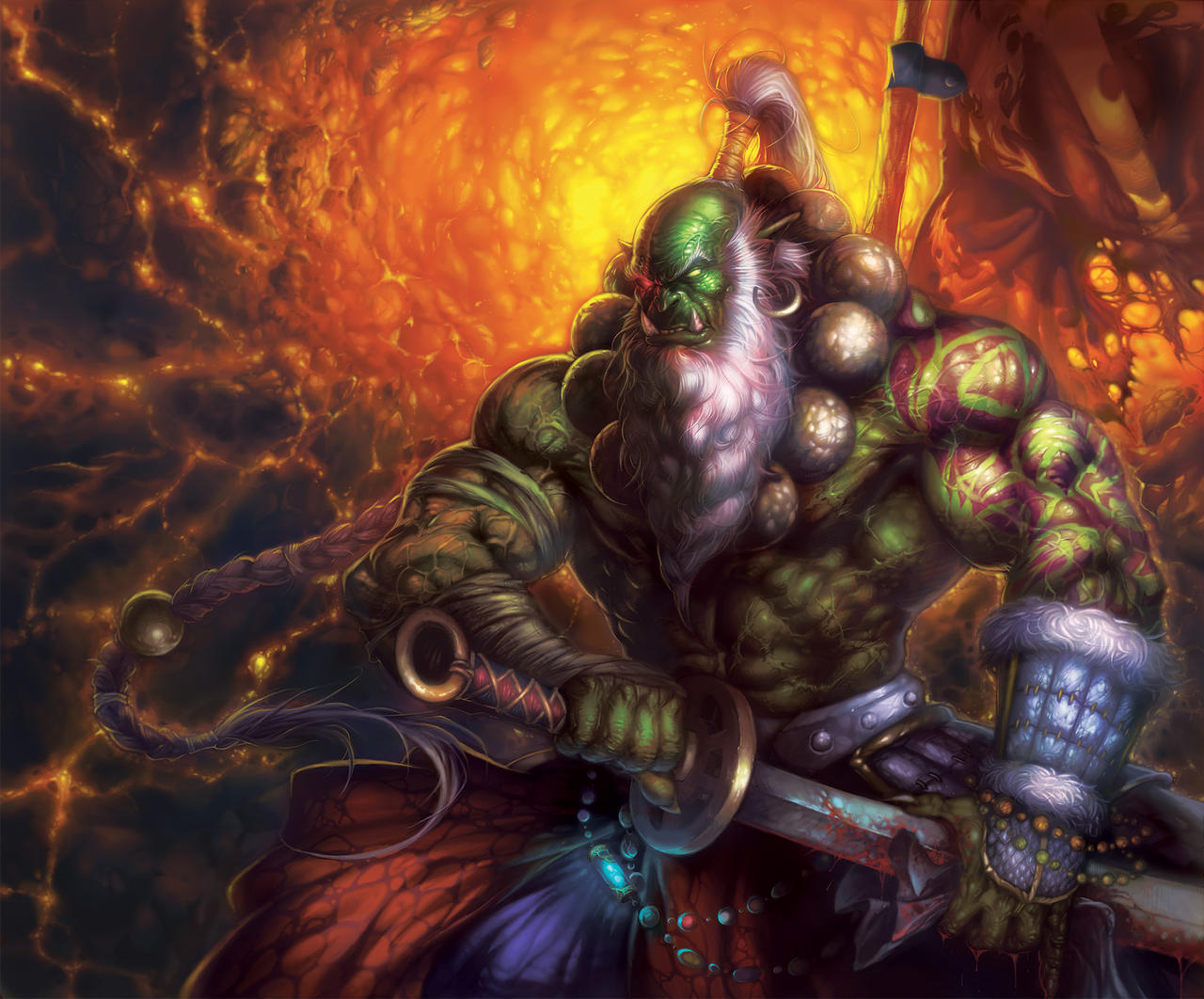 Mi llegada a worldofeditors.net (la historia) Orc_blade_master_by_heewonlee-d35b1xt