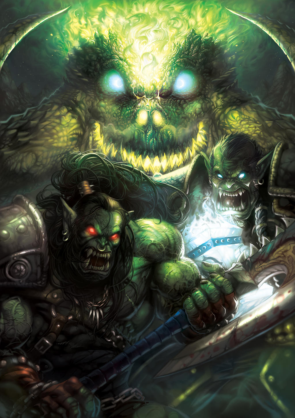 Grom Hellscream and Thrall