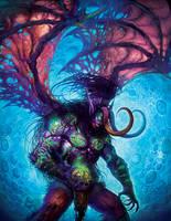 Demon Hunter Illidan by HeeWonLee