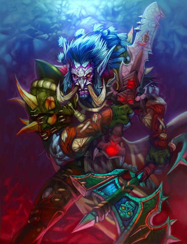 Troll Rogue by HeeWonLee