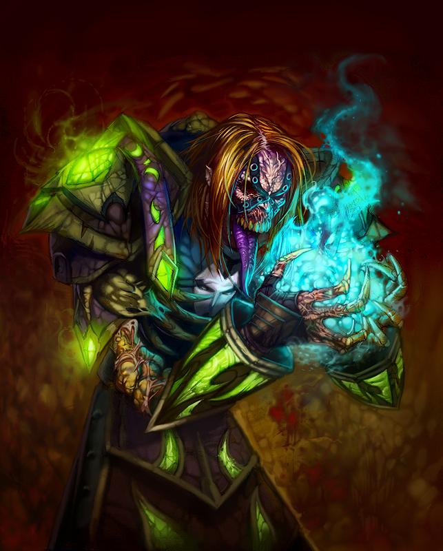 Undead Warlock by HeeWonLee