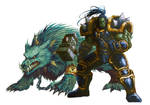 Thrall And Wolf