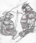 Leo VS Shredder