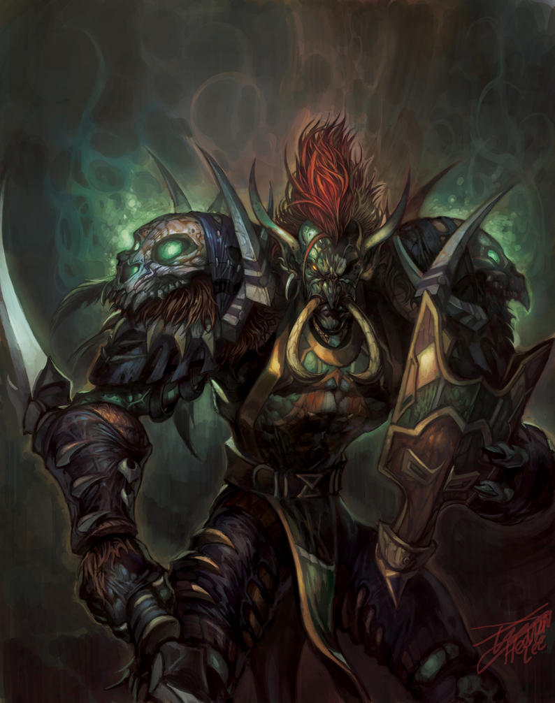 Lets Share Our Favorite Warcraft Fan Art Archive Page 11
