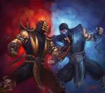 Scorpion VS Subzero