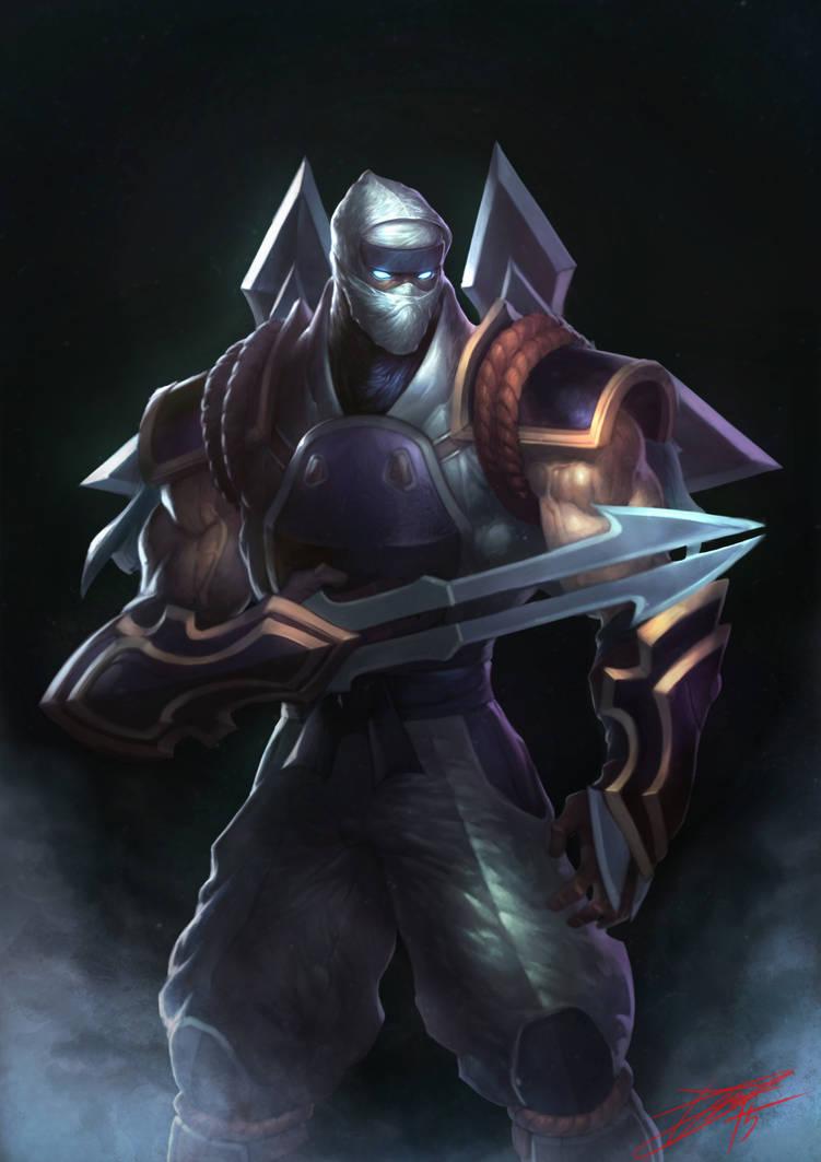 Shockblade Zed by HeeWonLee