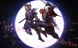 Shen VS Zed by HeeWonLee