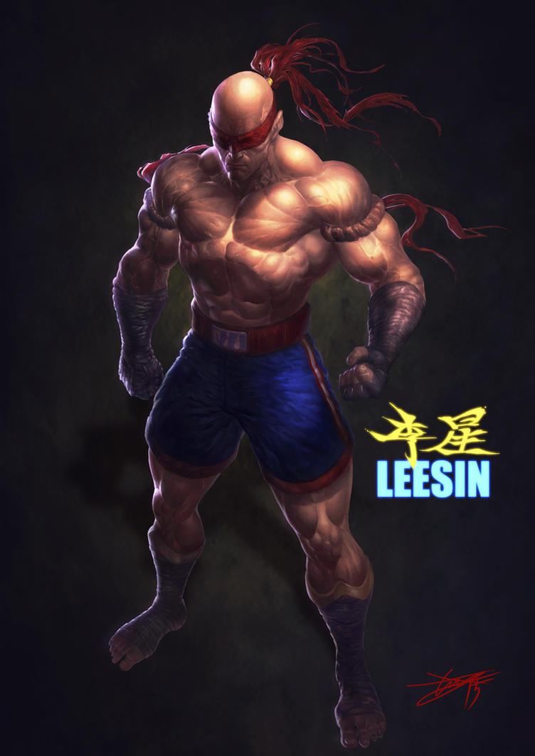 LOL Leesin! by HeeWonLee