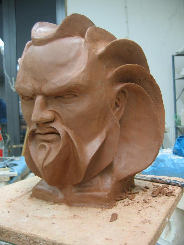 Skulpture od gline - Page 2 Clay_sculpture___gruschl___by_jouline-d3b3r2z