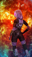 Tali Zorah vas Normandy
