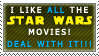 Star Wars Stamp by TheKnightOfTheVoid