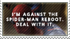 Anti-Spider-Man Reboot Stamp by TheKnightOfTheVoid