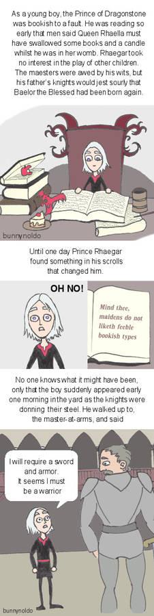 nerdy little Rhaegar