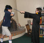 Sasuke Uchiha Vs. Harry Potter