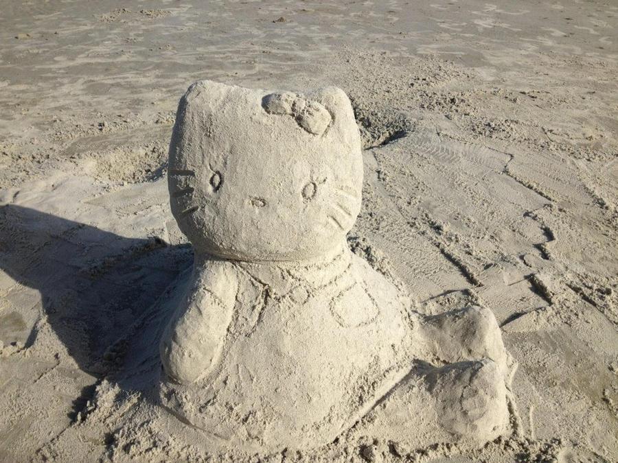 Hello Sandy Kitty! by Ikumishinigami