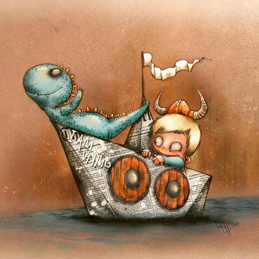 I am Viking! Kids Adveture Series by KristinaKarlsen