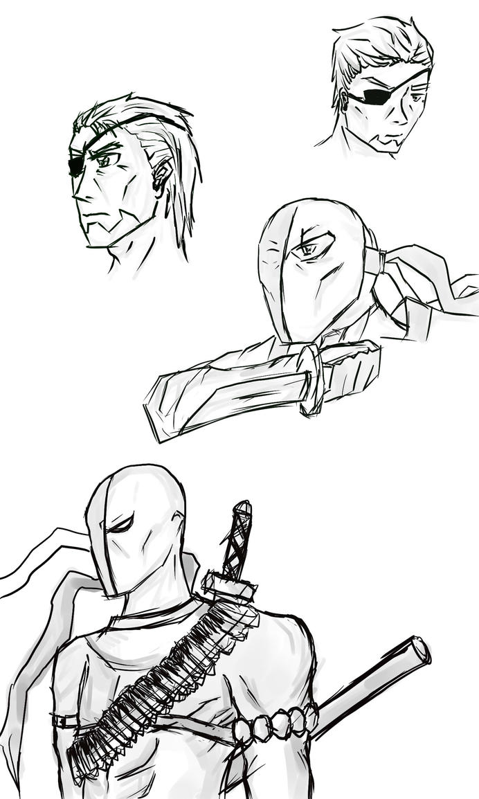 Deathstroke coloring coloring pages for Deathstroke coloring pages