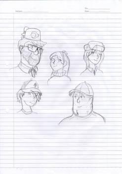 Gravity Falls Characters