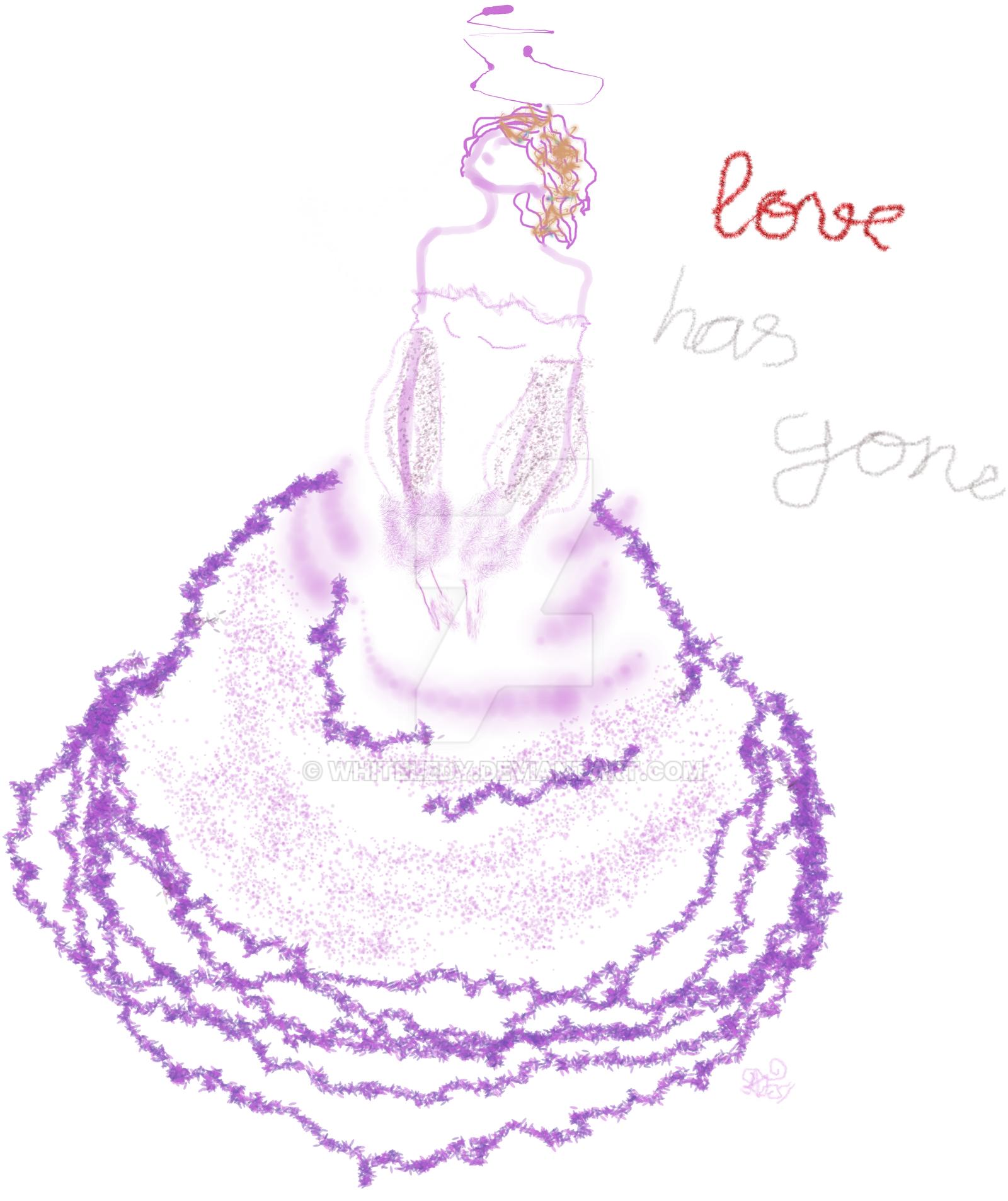 Lovehasgone by WhiteLedy