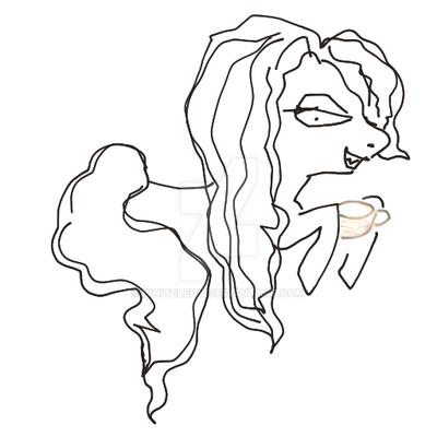 Ponyzation of Bellatrix by WhiteLedy