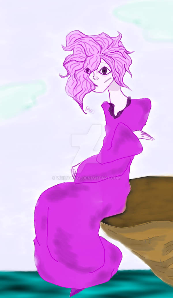Essence Of Violet Mood by WhiteLedy