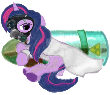 fanart: MLP Twiligh-NOT MY CHARACTER by WhiteLedy