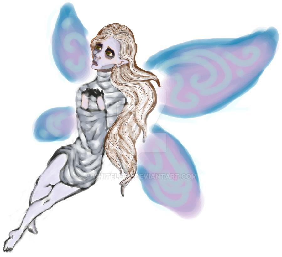 Graveyard Fairy by WhiteLedy