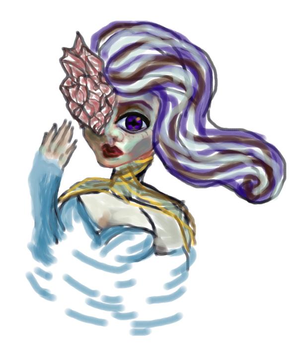 mermaid's disease by WhiteLedy