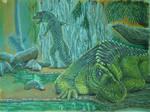 Postosuchus Couple