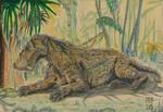 Resting Gorgonops