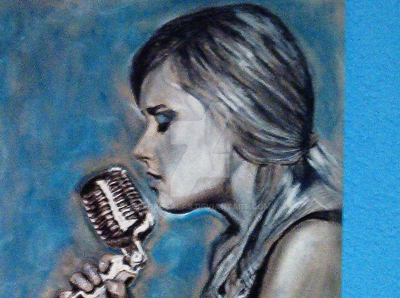 Singer. Close up by PedroSalas