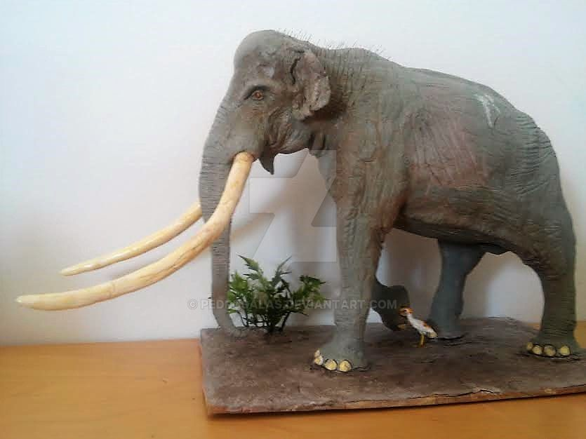 Palaeoloxodon antiquus by PedroSalas