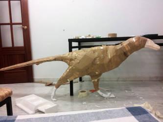 Dromaeosaurus albertensis WIP by PedroSalas