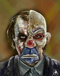 Heath Ledger Joker by jeransome