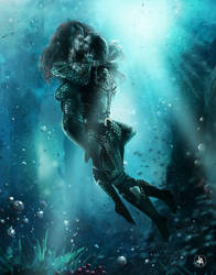 Aquaman and mera final by jeransome