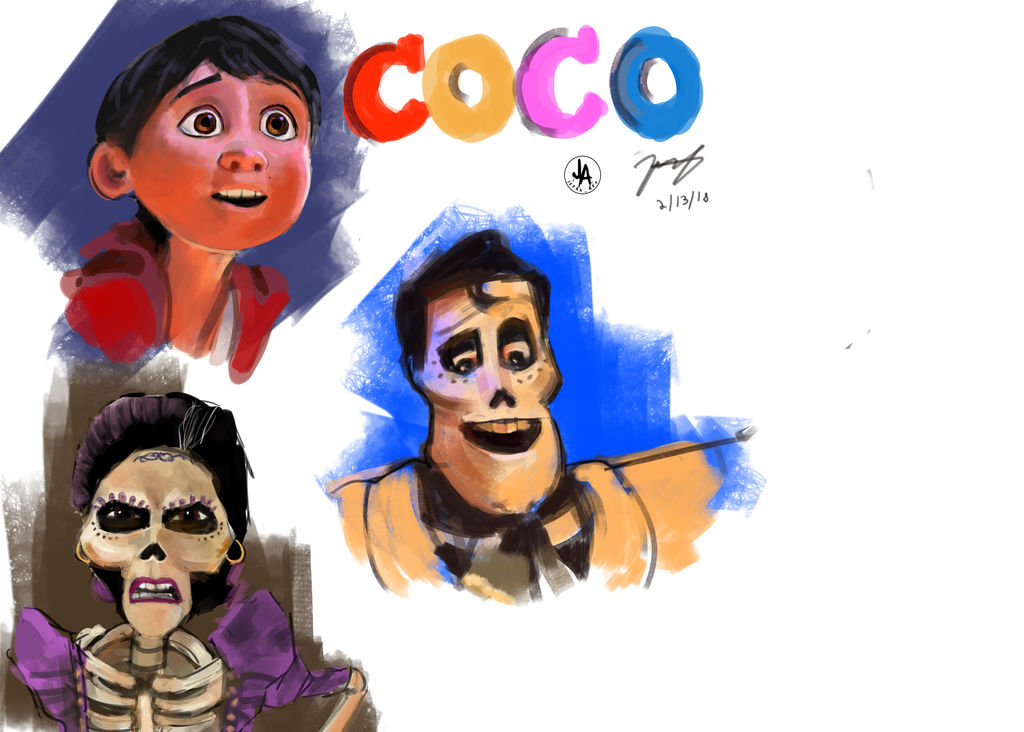 Coco Practice by jeransome