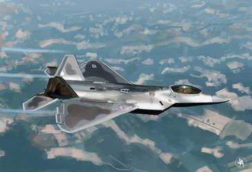 F-22 Raptor by jeransome