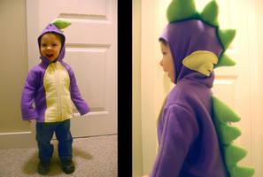 Spike Hoodie by littlerobin87