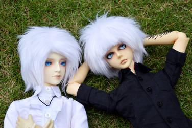Tomo and Jullian by littlerobin87