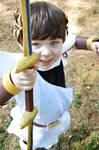Pit readies his bow