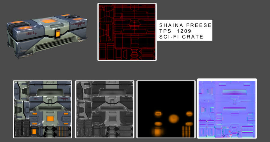 CW: Scifi Crate Texture by cannibal-crunch on DeviantArt