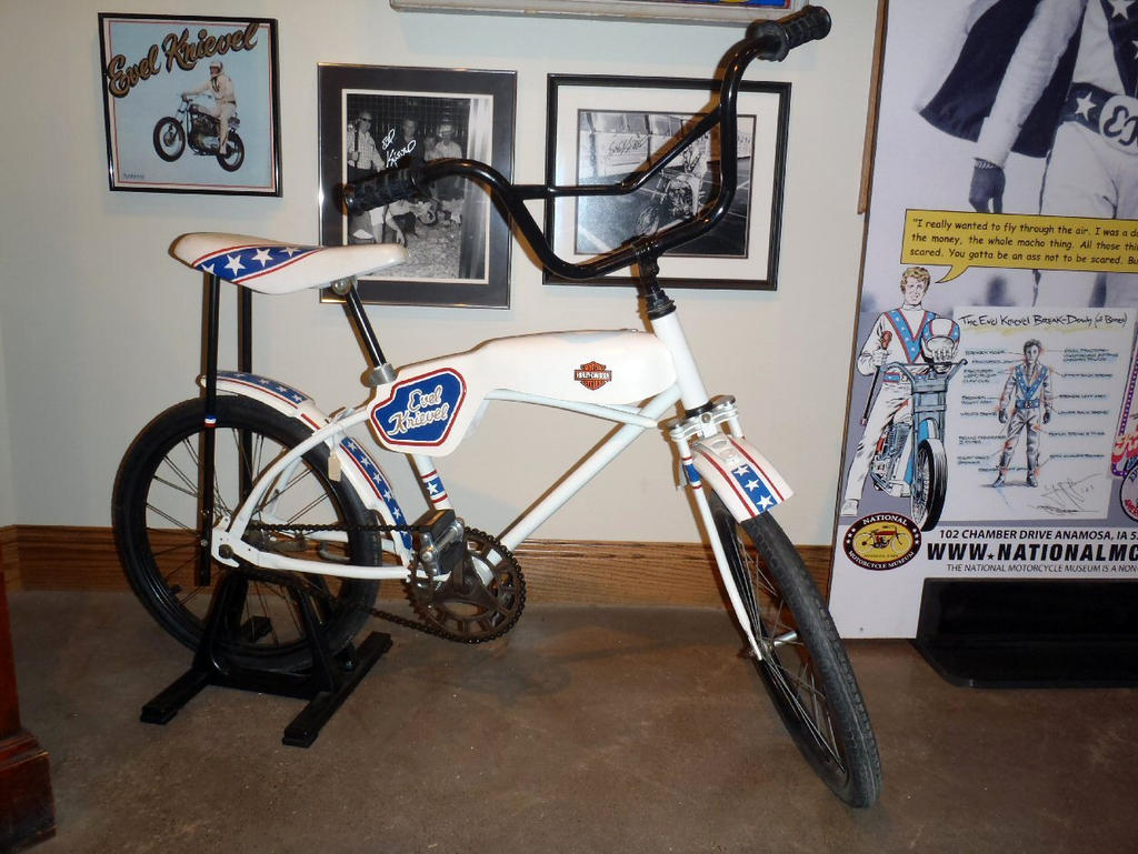 Evel Knievel Bike: Evel Knievel Bicycle By Caveman1a On DeviantArt