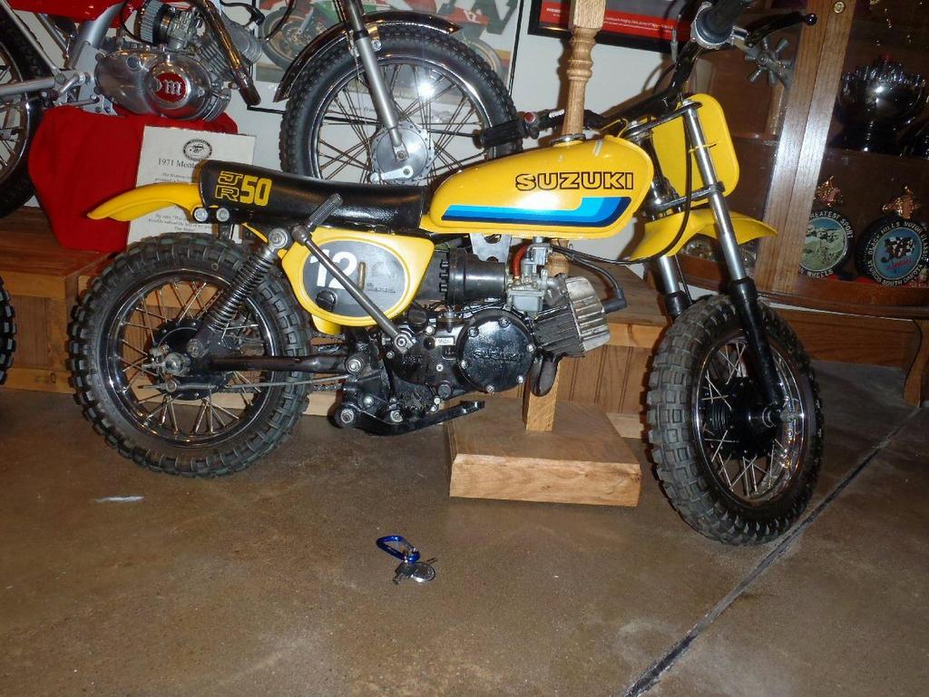 Suzuki JR 50cc Dirt Bike by Caveman1a on DeviantArt