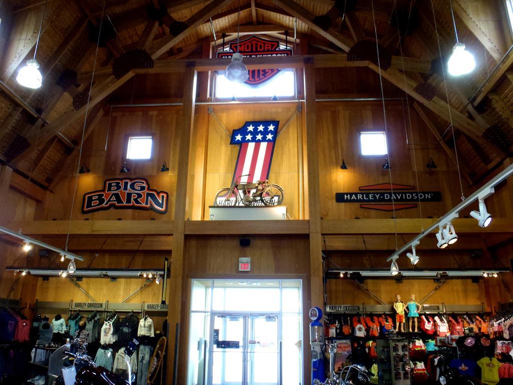 Inside The Big Barn Harley-Davidson by Caveman1a on DeviantArt