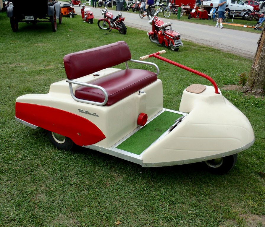 Vintage Tripco Tee Birdie Golf Cart By Caveman1a